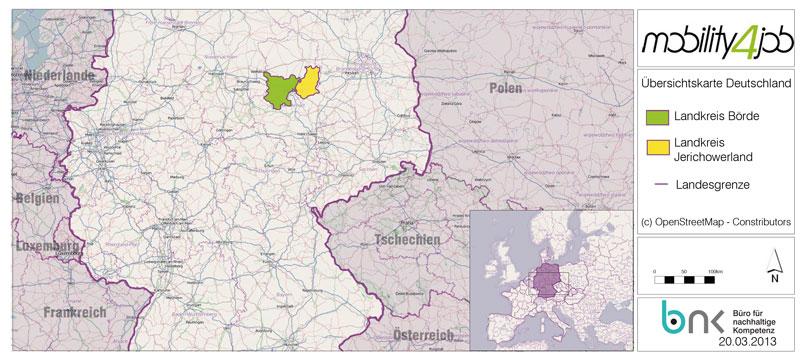 Landkreis Börde und Jerichowerland